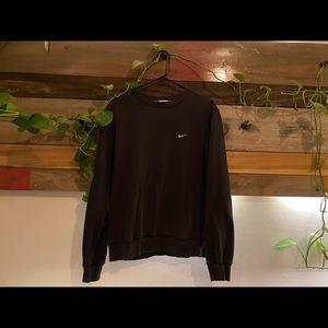 NIKE Men's (M) Black Crew Neck Sweatshirt/Sweater